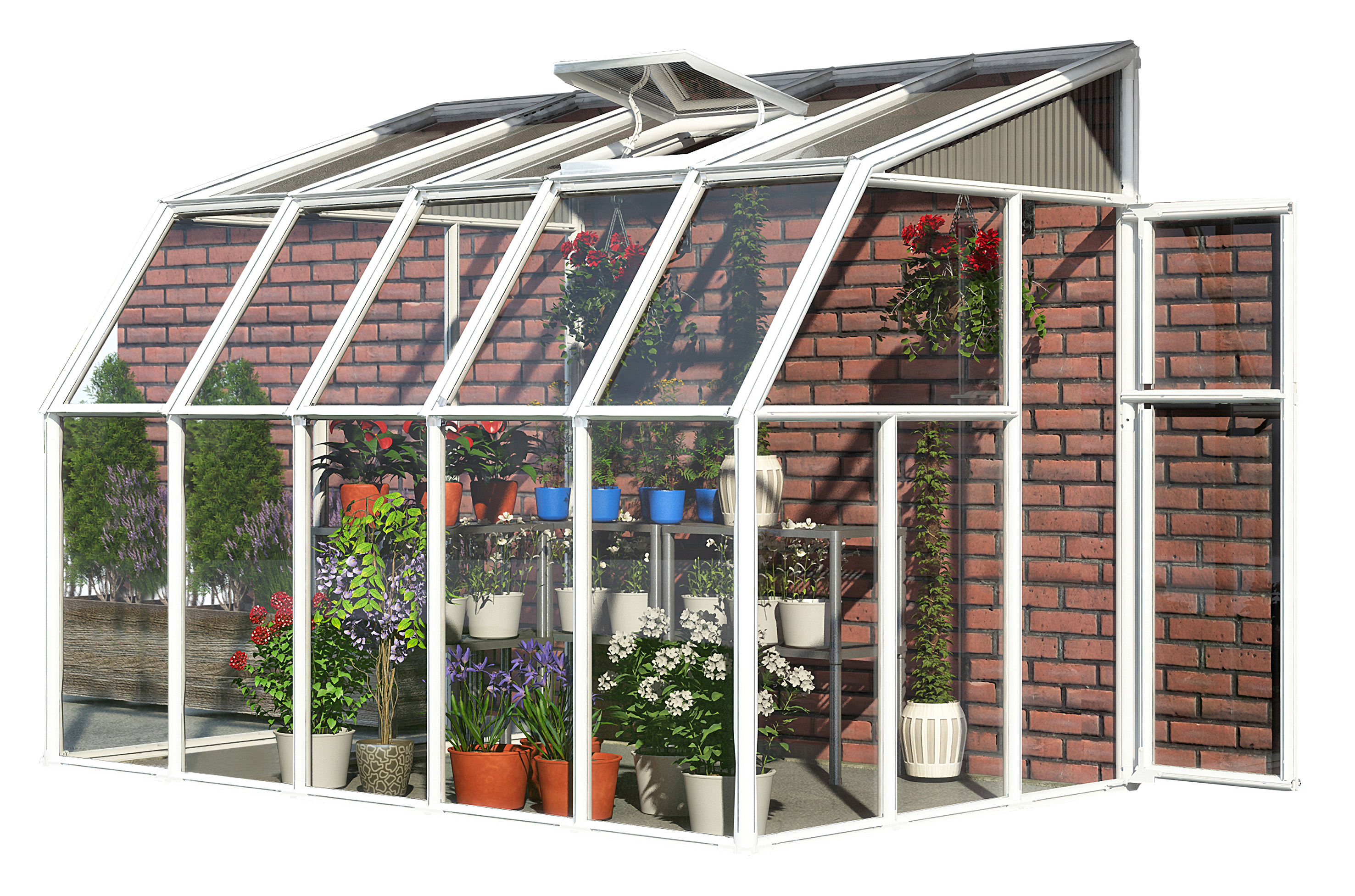 lean to sunroom kit 171 greenwall solutions inc
